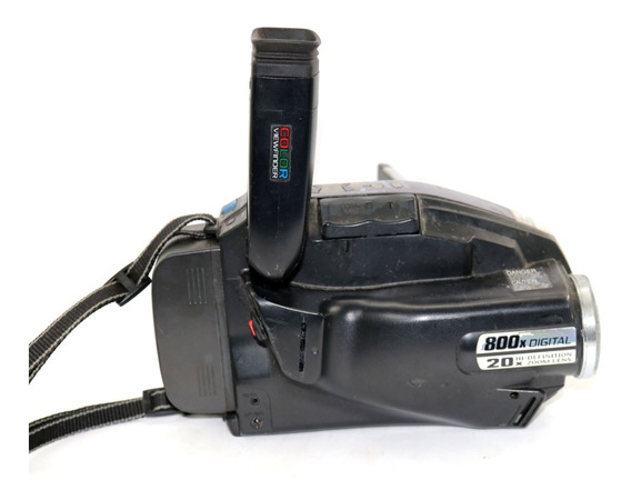Filmadora Panasonic Palmcorder Vhsc Retirada De Peças A11940