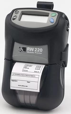 Impressora Zebra Rw 220 + Etiquetas + Portátil