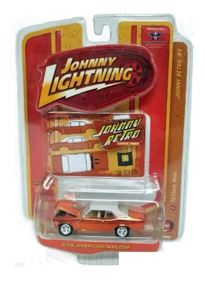 Johnny Lightning 1970 Chevy Nova Ss Retro Series Solo Envios