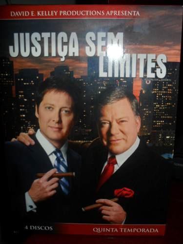 Justiça Sem Limites 5ª Temporada - Novo Original Lacrado