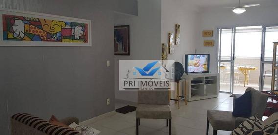 Apartamento À Venda, 113 M² Por R$ 640.000,00 - Ponta Da Praia - Santos/sp - Ap0392