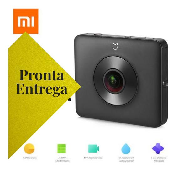 Câmera 360 Xiaomi Mi Sphere + Tripé + Bastão De Selfie