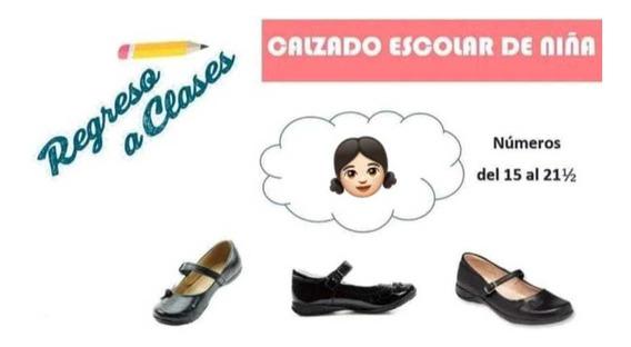 Zapato Escolar De Niña Lote20 Pares Venta Al Mayoreo 15/21