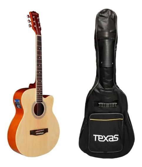 Guitarra Electroacústica Tipo Apx Hidden Accesorios