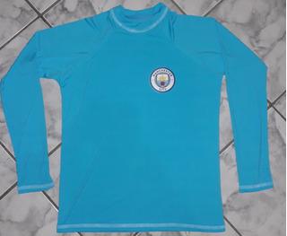 Camisa Do Manchester City Proteção Uv50