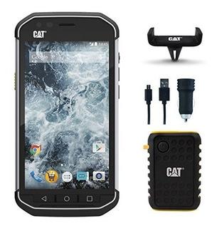 Cat Phones S40 Rugged Waterproof Smartphone Bundle With