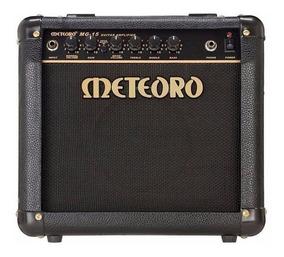 Cubo Amplificador Guitarra 15w Rms Mg15 Preto Meteoro