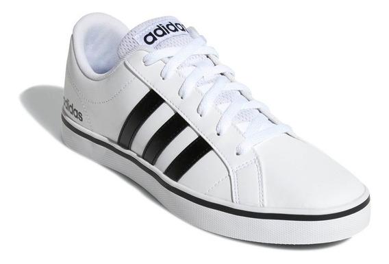 Tenis adidas Pace Vs Caballero Comodos Casuales 100% Originales Blanco En Caja