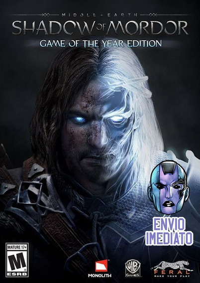 Shadow Of Mordor Game Of The Year Edition Steam Chave
