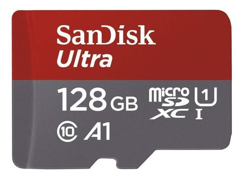 Tarjeta De Memoria Sandisk Ssd Ultra 128 Gb Clase 10