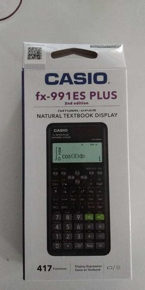 Calculadora Cientifica Casio Fx-991es Plus 417 Funcoes Original