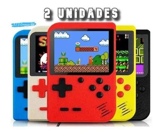Vídeo Game Portátil 400 Jogo Super Nintendo Mini Game 2 Unid