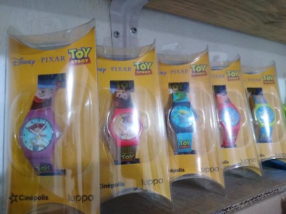 Toy Story4 Relojes Promocionales De Cinepolis 5 Piezas