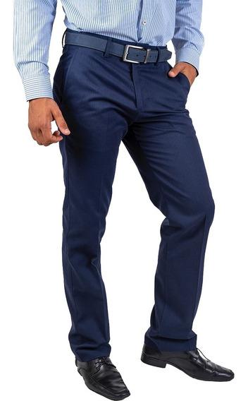 Pantalón Casual, Vestir, Caballero De Gabardina Tipo Docker