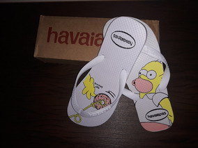 Chinelo Tipo Havainas Homer Simpson