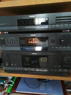 Estereo Amplificador Toshiba $ 700°° Sin Bocinas,sin Radio