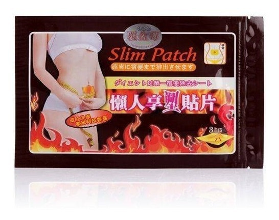 60 Adesivos Slim Patch Inibidor De Apetite Para Emagrecer