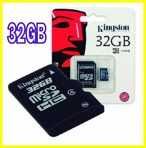 Memoria Micro Sd De 32gb Kingston De Alto Rendimiento
