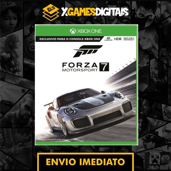 Forza Motorsport 7 Xbox One Midia Digital + 1 Jogo Grátis