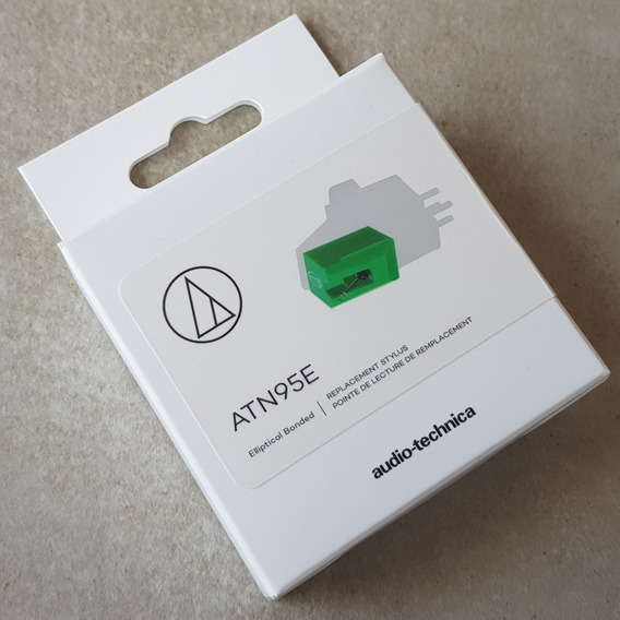 Agulha Audio Technica Atn95e Verde Original