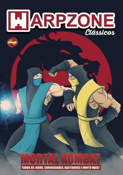 Revista Warpzone Mortal Kombat - História Do Jogo