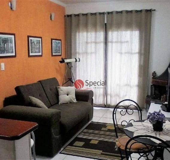 Apartamento Com 1 Dormitório À Venda, 49 M² - Floresta Negra - Campos Do Jordão/sp - Ap11775