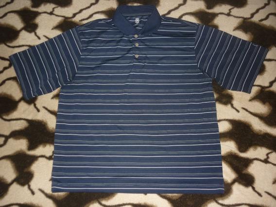 E Chomba Golf Pga Tour Rayada Talle L Azul Art 80457