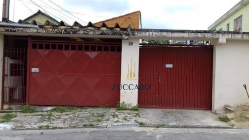 Terreno À Venda, 255 M² Por R$ 520.000,00 - Cidade Brasil - Guarulhos/sp - Te0945