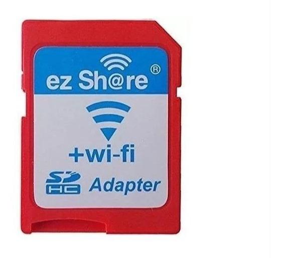 Promoção Adaptador Sd Wifi Ez Share Similar Toshiba Flashair