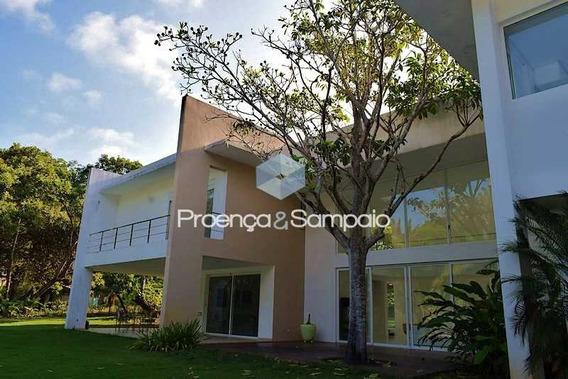 Casa Para Locação Anual Em Busca Vida, Camaçari, Bahia - Pscn40121