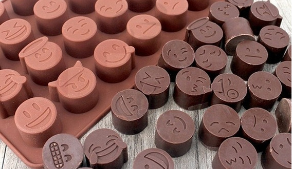 Caucho De Silicona Alimentos - Bombones - Cupcakes X 0,5 Kg