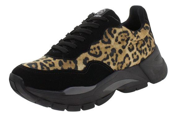 Tênis Feminino Dad Sneaker Via Marte - 193475 Onça