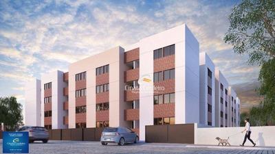 Apartamento Garden Com 2 Dormitórios À Venda, 53 M² Por R$ 179.000 - Jardim Cidade Universitária - João Pessoa/pb - Gd0035