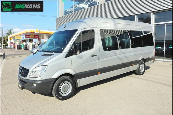 Sprinter 2016 415 Bigvan Executiva 15 Lugares Prata (9324)