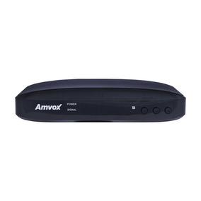 Receptor Conversor Digital Amvox Acd315 Full Hd Usb Hdmi Rca