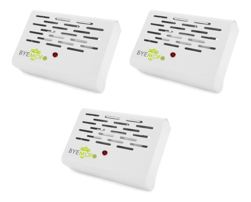 Kit 3 Aparelho Elétrico Anti Mofo Ácaro Fungos Bactérias Bye Mofo Legon 110v Ou 220v Selecione