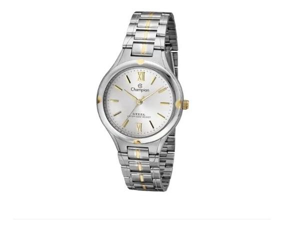 Relógio De Pulso Social Champion Steel Ca20232s