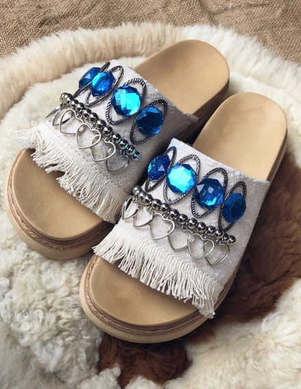 Sandalias Con Piedras Envio Gratis