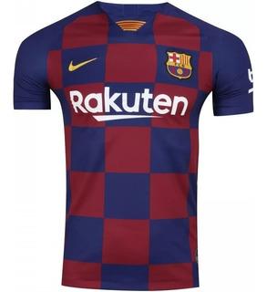 Camisa Barcelona Third Azul 2019-2020 Original Frete Grátis