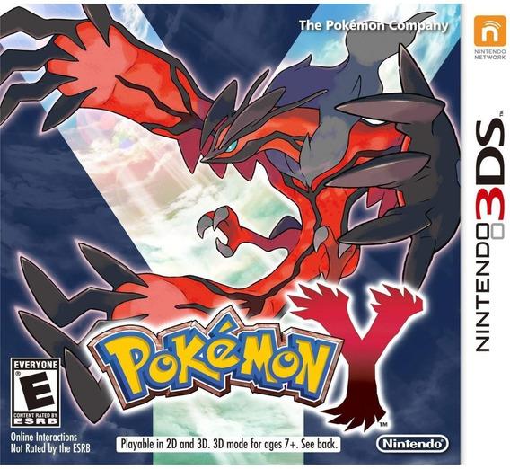 Pokémon Y - 3ds ! Semi Novo! M. Física!