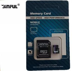 Cartão De Memória Micro Sdhc 8gb Com Adptador Celular