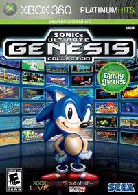 Sonic Ultimate Genesis Collection - Xbox 360 Mídia Física