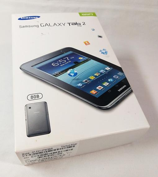Caja Vacía Para Samsung Galaxy Tab2 7.0 (no Incluye Tablet)