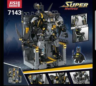Compatible Lego Bate Mech Vengadores Batman 1181 Piezas