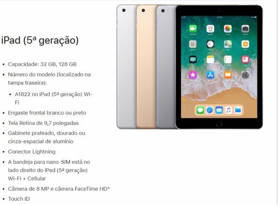 Tablet iPad (5ª Geração) Apple Original