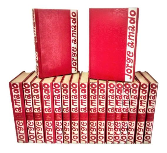 Kit Livros Jorge Amado Decoração Sala 18 Volumes Capa Dura