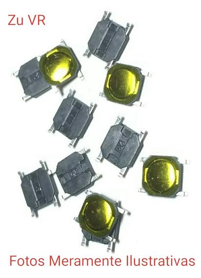 Frete Grátis 10 Pçs Botãotacttatil 4pino 4x4x0,8 Microondas