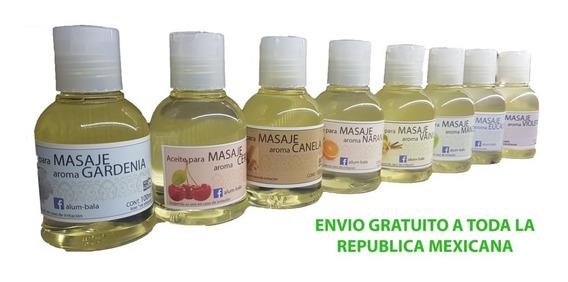 8 Aceite De Masaje Aromatico, Pareja Sensual Vainilla Canela