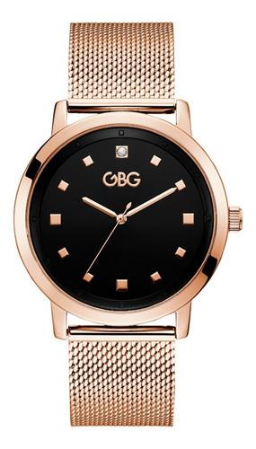 Reloj G By Guess Ambassador Caballero G12906g1 Oro Rosa