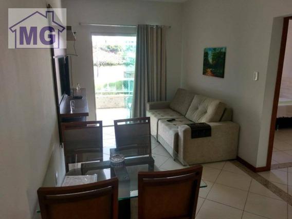 Apartamento Com 1 Dormitório À Venda, 52 M² Por R$ 240.000,00 - Cancela Preta - Macaé/rj - Ap0242